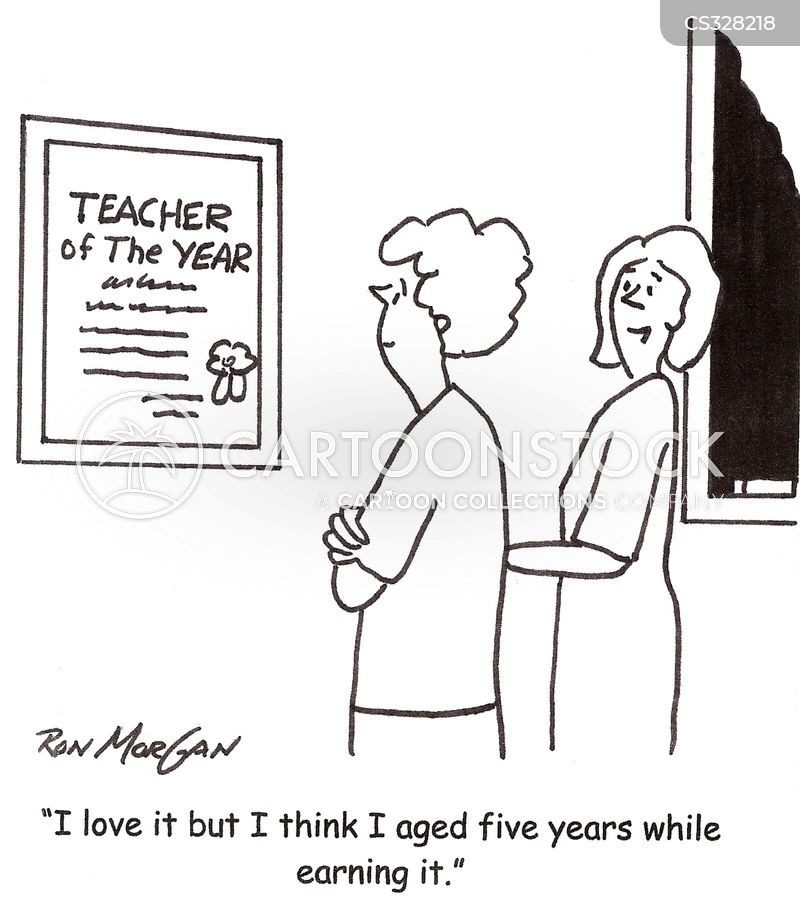 Funny Teacher Of The Year: Teacher Of The Year Cartoons and Comics   funny pictures from    ,