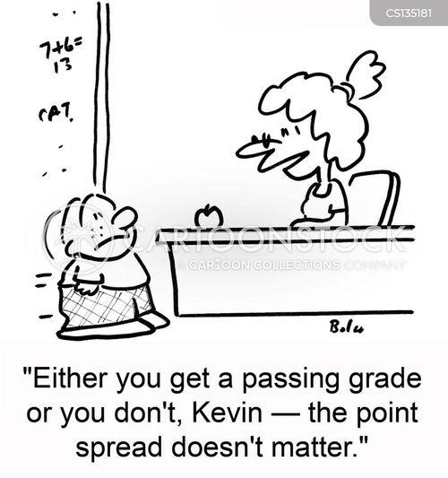 average grade cartoon