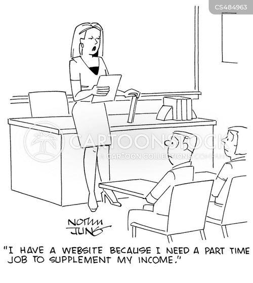 teachers pay cartoon