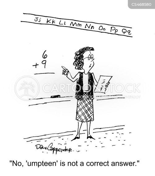correct answer cartoon