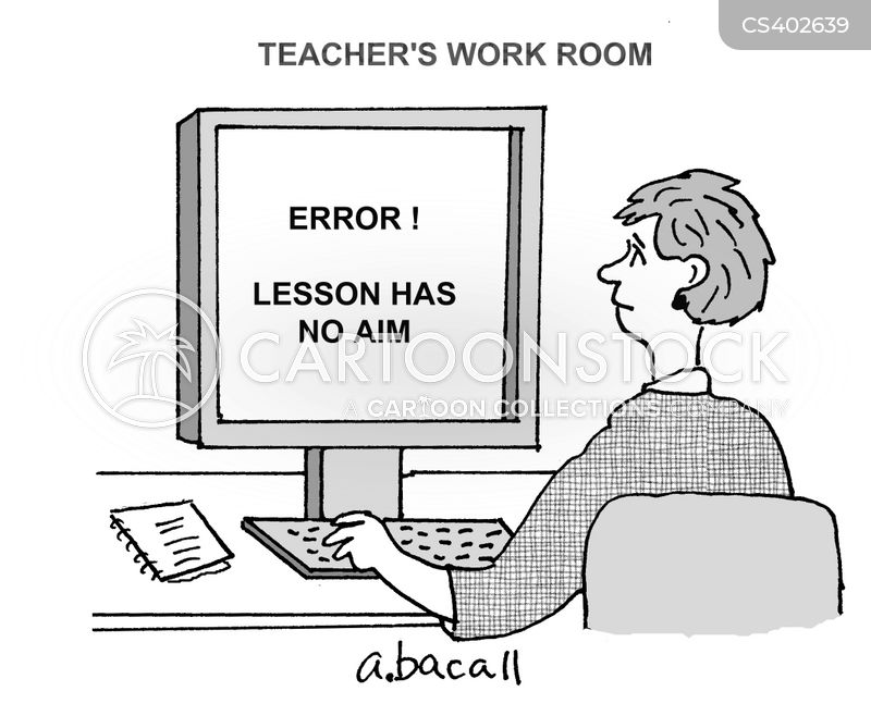 teaching plans cartoon