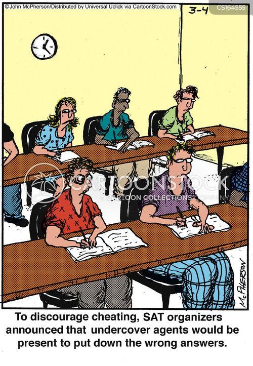 tests cartoon