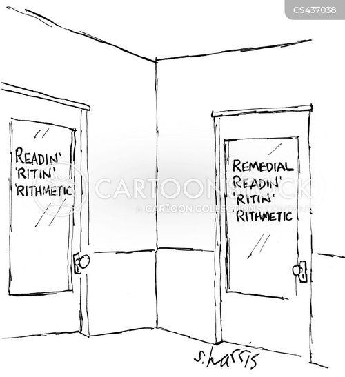 the 3 rs cartoon