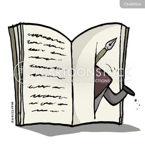 literary ambition cartoon