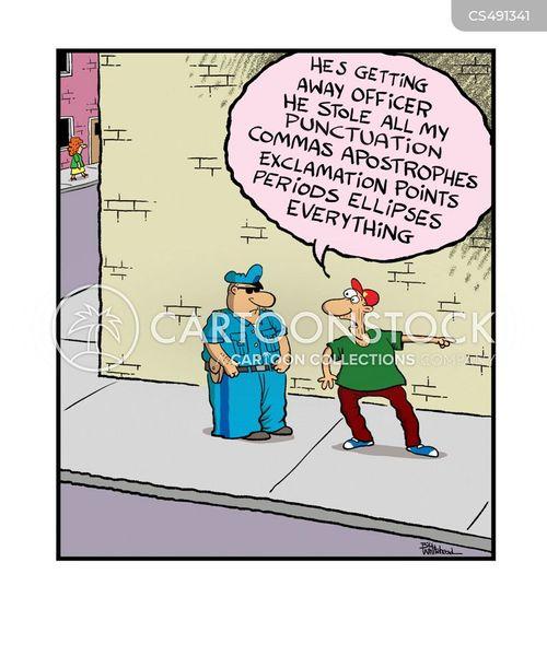 grammar nazis cartoon