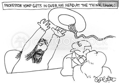 in over your head cartoon