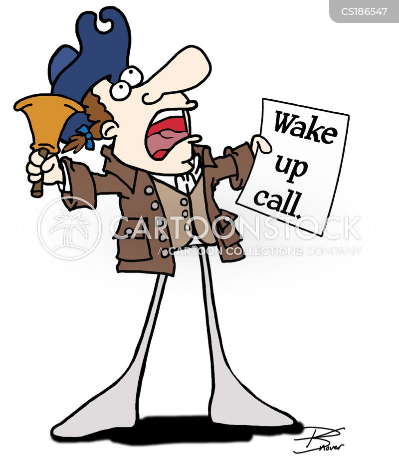 wake-up cartoon