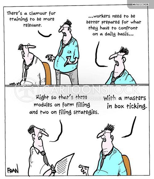 graduate job cartoon