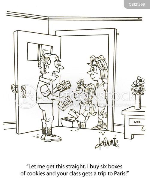 brownie cartoon