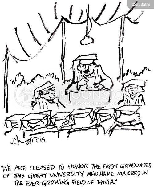 academic disciplines cartoon