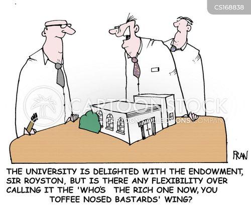 endowments cartoon