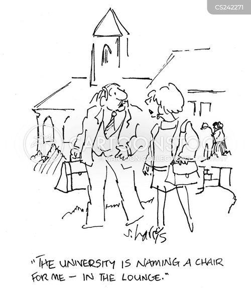 campuses cartoon