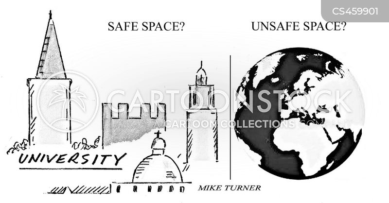 safe spaces cartoon