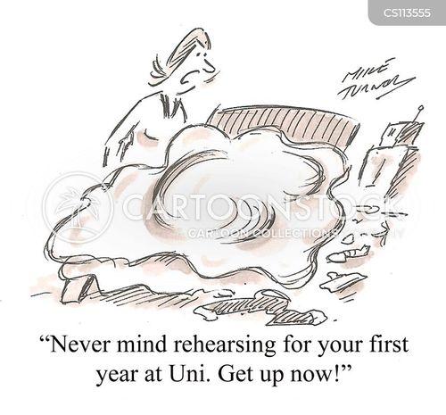 student lifestyles cartoon