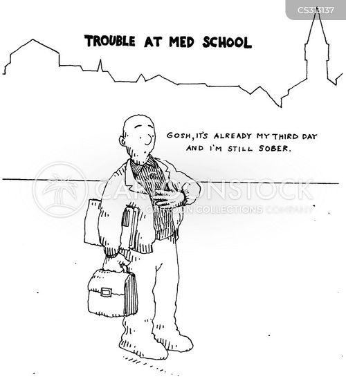 med school cartoon
