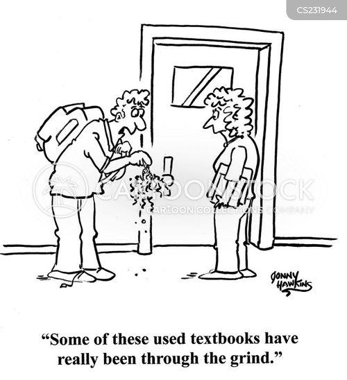 cheap book cartoon