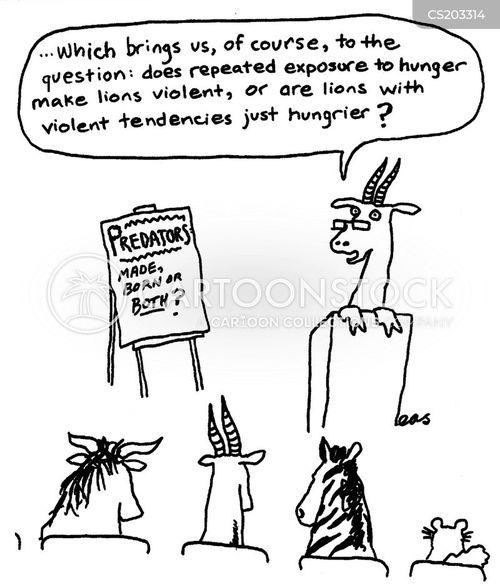 psychology student cartoon