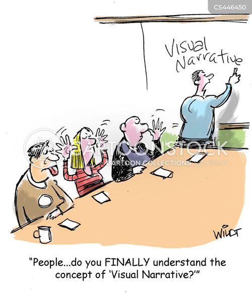 demonstrate cartoon