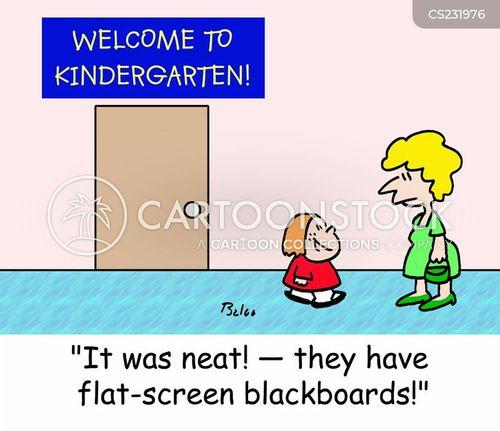 flat-screens cartoon