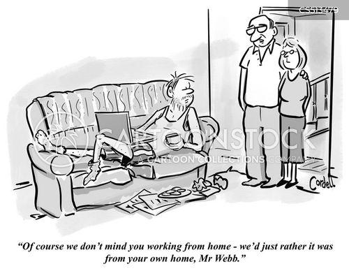 overstaying cartoon