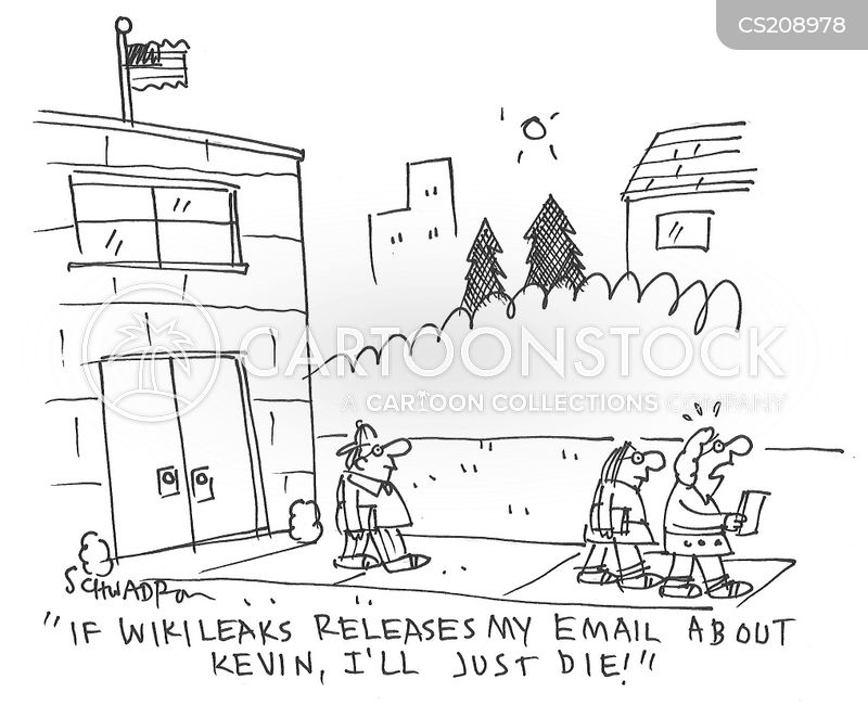 wikileaks cartoon