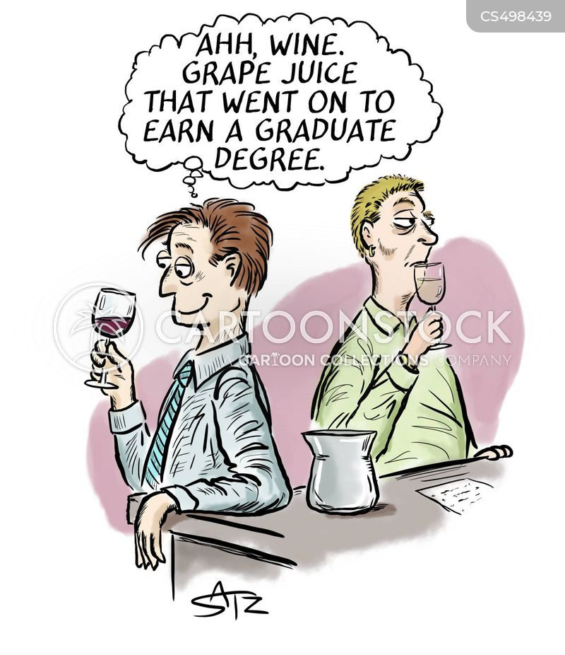 grape juice cartoon