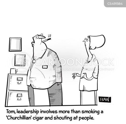 bad leaders cartoon