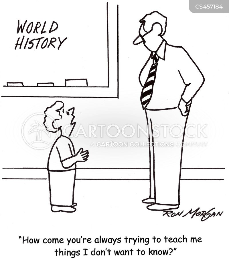 world history cartoon