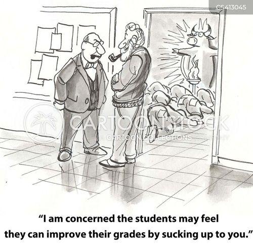 sycophancy cartoon