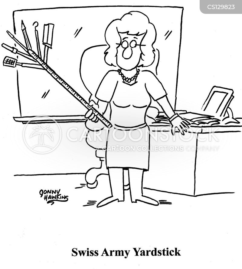 Yardstick Cartoons And Comics Funny Pictures From