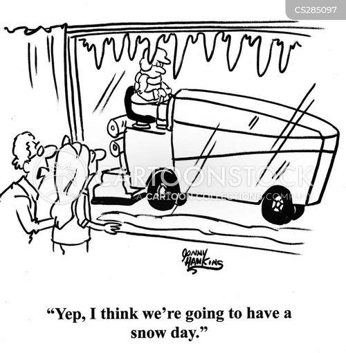 ice machines cartoon