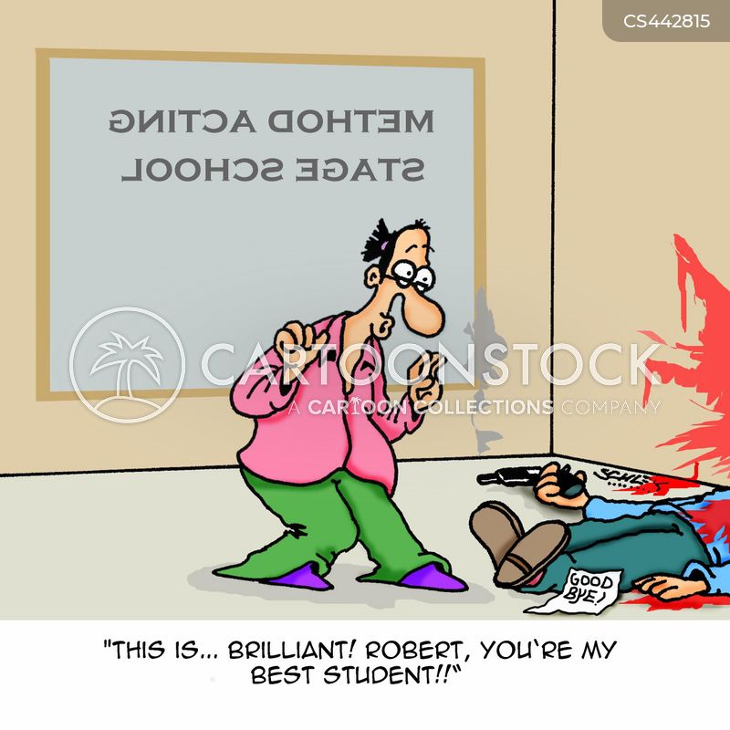 drama teacher cartoon