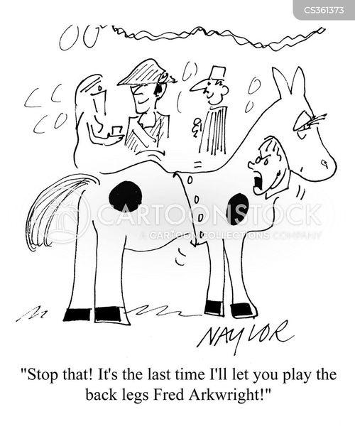 pantomime horses cartoon