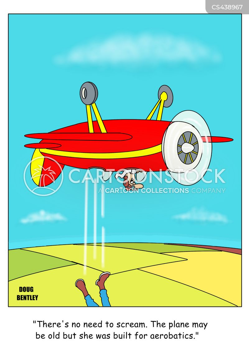 aeronautic cartoon