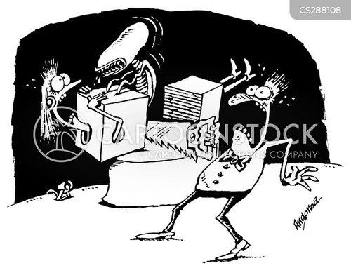 chestburster cartoon