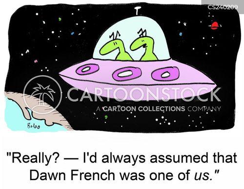 dawn french cartoon