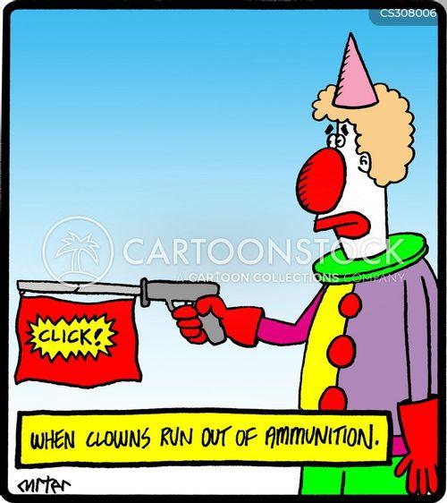 ammunition cartoon