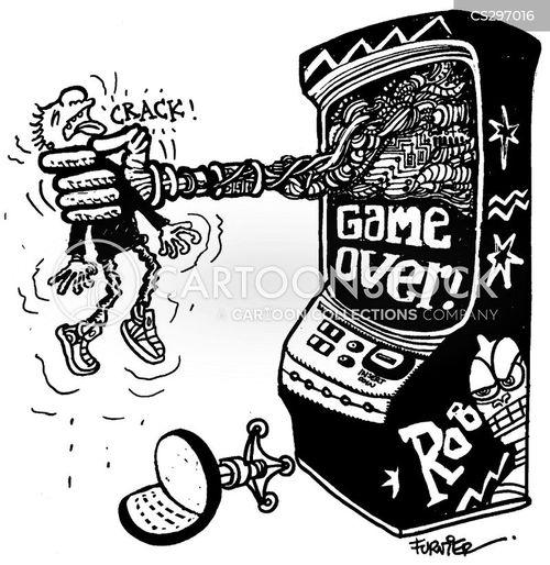 game over cartoon