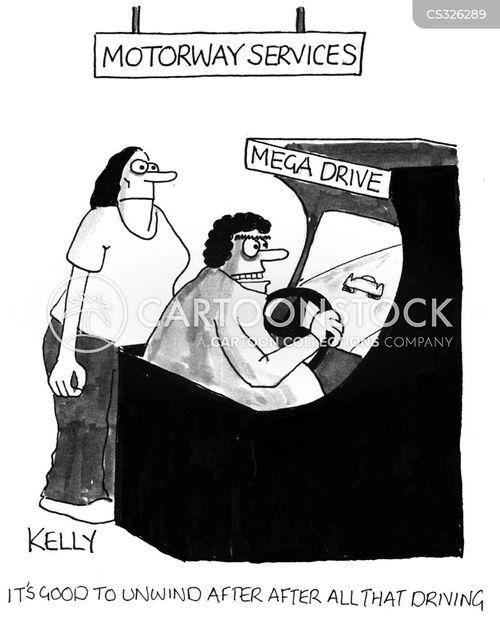 interstate cartoon