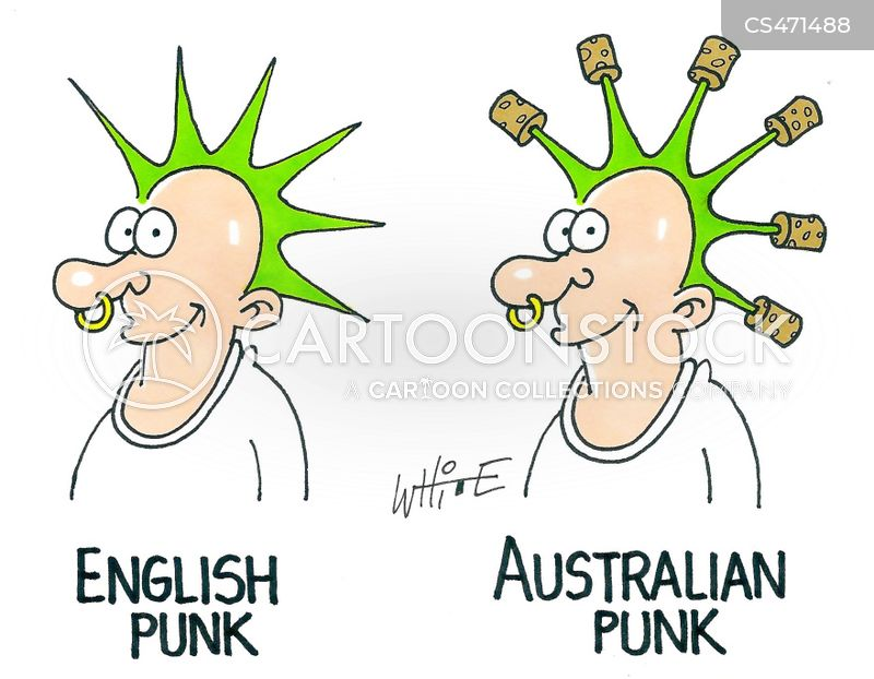 australian stereotypes cartoon