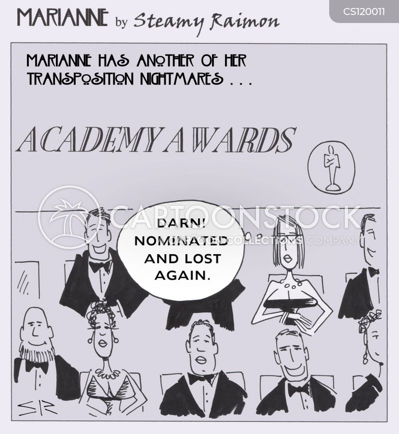 award shows cartoon