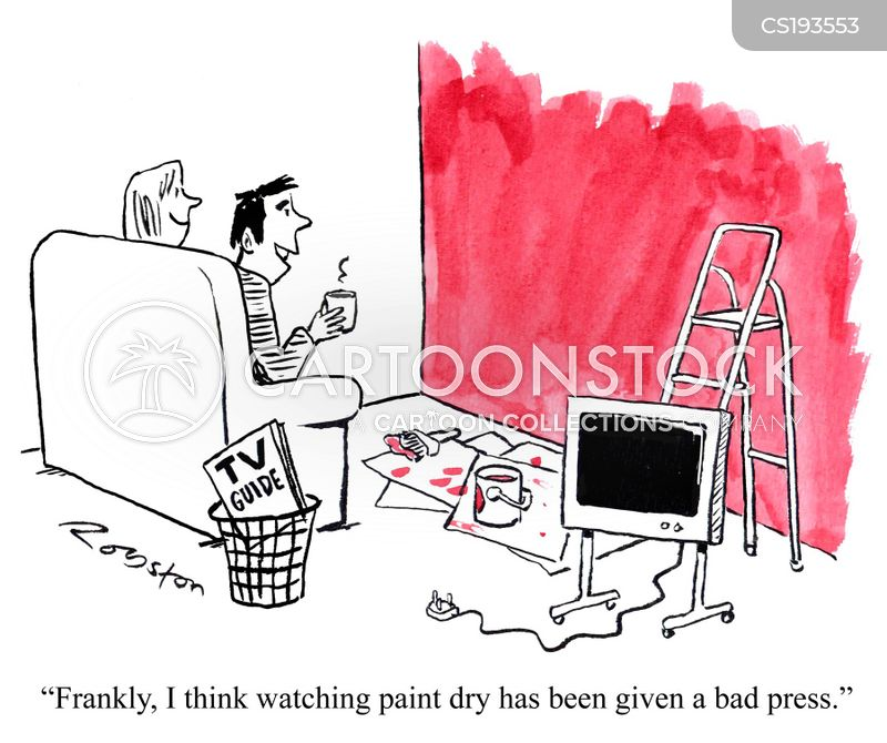 Painter And Decorator Cartoon 3 Of 25