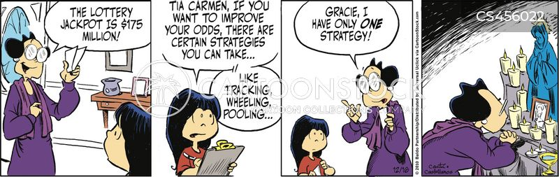 game of chance cartoon