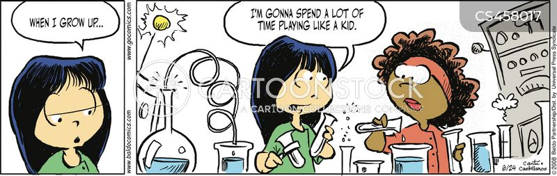 precocious children cartoon