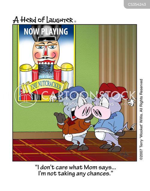 the nutcracker cartoon