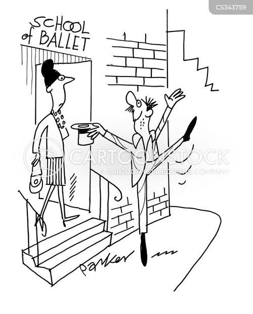 dance school cartoon
