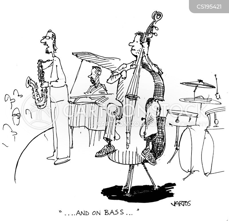 Cartoon Concert Band Musical Band Cartoon 2 of 6