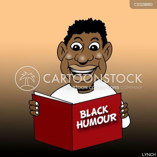 dark sense of humor cartoon