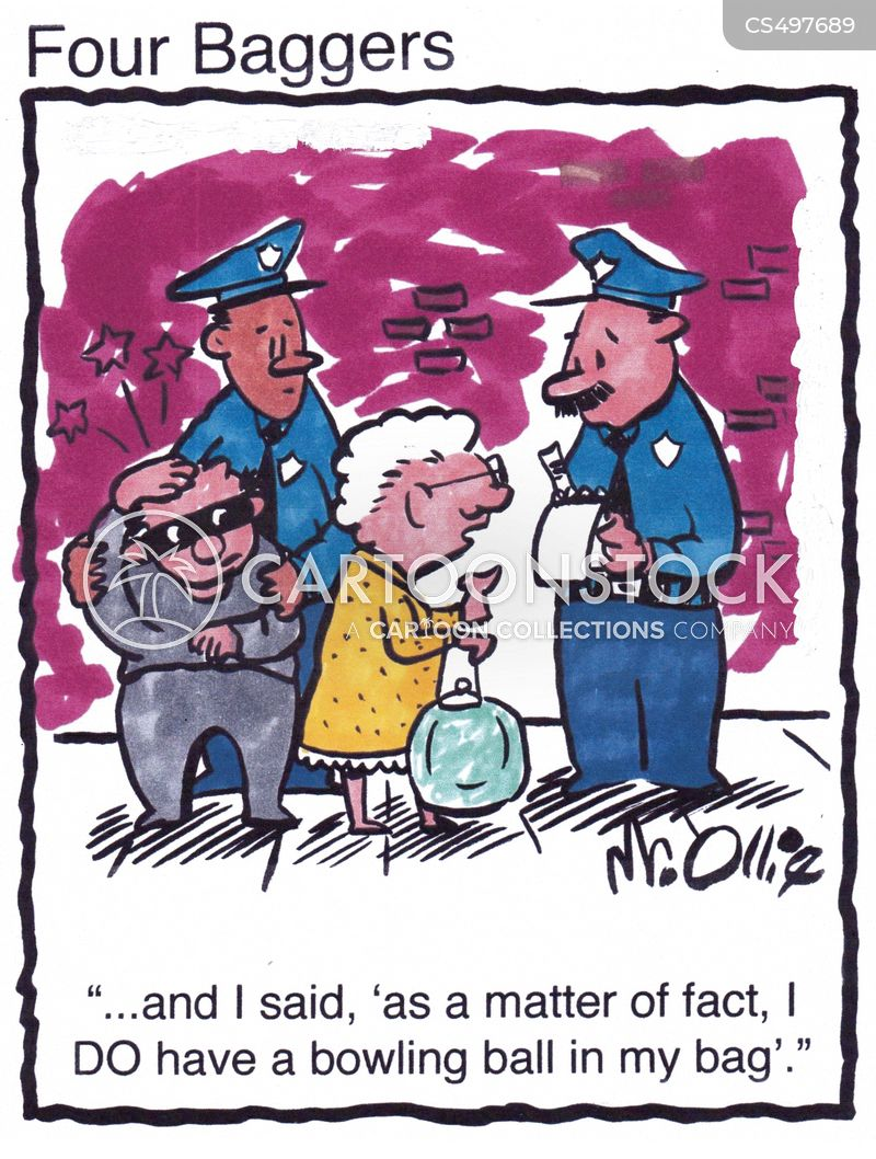 police report cartoon