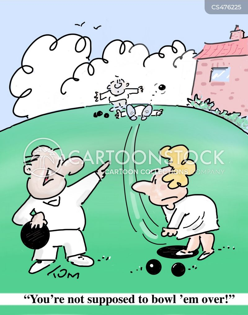 lawn bowls cartoons and comics funny pictures from cartoonstock